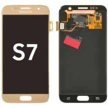 OLED & Digitizer Assembly for Samsung Galaxy S7 (Gold Platinum) (OEM)