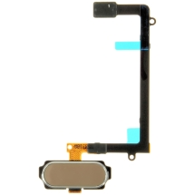 Flex Cable (Home Button) for Samsung Galaxy S6 Edge (Gold Platinum) (OEM) (Closeout)
