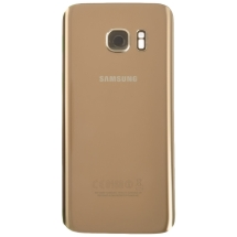Housing (Rear) for Samsung Galaxy S7 (Gold Platinum) (OEM)