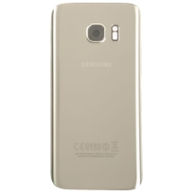 Back Glass for Samsung Galaxy S7 (Silver Titanium) (OEM) (Closeout)