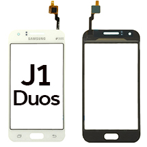 Digitizer for Samsung Galaxy J1 Duos (White) (OEM) (Closeout)