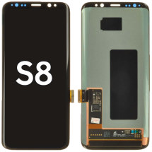 OLED & Digitizer Assembly for Samsung Galaxy S8 (Black) (Aftermarket)