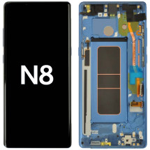 OLED, Digitizer & Frame Assembly for Samsung Galaxy Note 8 (N950) (Coral Blue) (OEM)