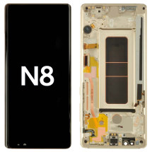 OLED, Digitizer & Frame Assembly for Samsung Galaxy Note 8 (N950) (Maple Gold) (OEM)