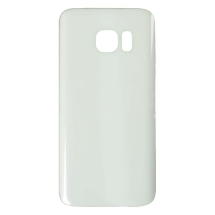 Rear Glass for Samsung Galaxy S7 (White) (Aftermarket)