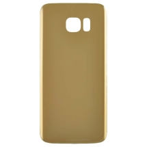 Back Glass for Samsung Galaxy S7 Edge (Gold) (Aftermarket)