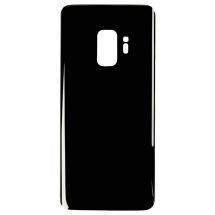 Back Glass for Samsung Galaxy S9 (Black) (Aftermarket)