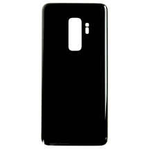 Back Glass for Samsung Galaxy S9+ (Black) (Aftermarket)