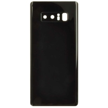 Back Glass with Camera Lens for Samsung Galaxy Note 8 (Black) (Aftermarket)