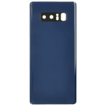 Housing (Rear) with Camera Lens for Samsung Galaxy Note 8 (Blue) (Aftermarket)