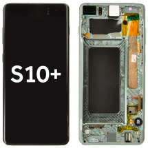 OLED, Digitizer & Frame Assembly for Samsung Galaxy S10+ (Green) (Aftermarket)
