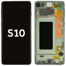 OLED, Digitizer & Frame Assembly for Samsung Galaxy S10 (Green) (Aftermarket)