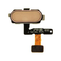 Flex Cable (Home Button) for Samsung Galaxy J5 (J530/2017) & J7 (J730/2017) (Gold)