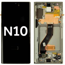 OLED, Digitizer & Frame Assembly for Samsung Galaxy Note 10 (Aura Glow) (OEM)