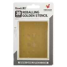 QianLi 3D IC Gold Stencil for Apple iPhone 6S & 6S Plus