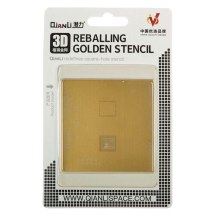 QianLi 3D CPU (A11) Gold Stencil for Apple iPhone 8, 8 Plus, & X