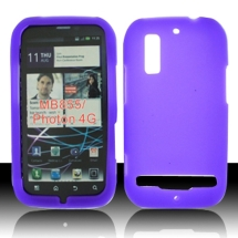 Silicon Skin Motorola Electrify (Purple) (Closeout)