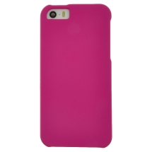 Rubberized Shield for Apple iPhone 5, 5s (Hot Pink) (Closeout)