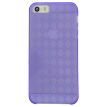 Candy Skin for Apple iPhone 5, 5S (Purple) (Closeout)