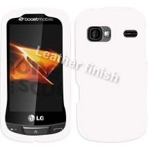 Rubberized Shield for LG UN272 Freedom (White) (Closeout)