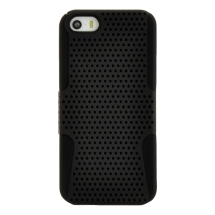 Mesh Hybrid Apple iPhone 5 (Black) (Closeout)