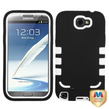 TUFF eNUFF Hybrid Case for Samsung Note 2 (Black & White) (Closeout)