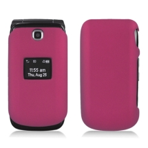 Rubberized Shield for LG UN160 Envoy 2 (Rose Pink) (Closeout)