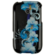 Shield for Samsung R480 Freeform 5 (Blue Flowers) (Closeout)