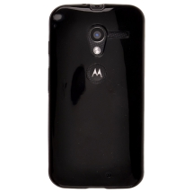 Solid Candy Skin for Motorola Moto X XT1055, XT1060 (Black) (Closeout)