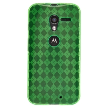 Candy Skin Case for Motorola Moto X XT1055, XT1060 (Green) (Closeout)