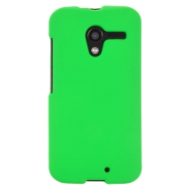 Rubberized Shield for Motorola XT1055, XT1060 Moto X (Green) (Closeout)