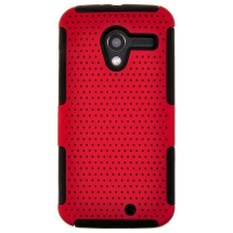 Hybrid Mesh Case for Motorola Moto X XT1055, XT1060 (Red) (Closeout)