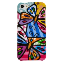 Shield for Apple iPhone 5, 5S (Pizato Butterflies) (Closeout)