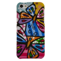 Shield for Apple iPhone 5C (Pizato Butterflies) (Closeout)