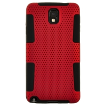 Hybrid Mesh Case for Samsung N9005 Galaxy Note 3 (Red) (Closeout)