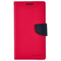 Mercury Wallet Case for Samsung N9005 Galaxy Note 3 (Hot Pink & Navy) (Closeout)