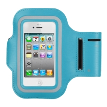 Universal Vertical Adjustable Sport Armband Pouch (Blue) (Closeout)