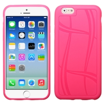Candy Skin Basketball Texture for Apple iPhone 6 & 6S (Hot Pink) (Closeout)