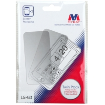 MYBAT Screen Protector for LG G3 (Twin Pack) (Closeout)