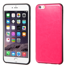 Candy Skin for Apple iPhone 6 Plus (Leather Hot Pink) (Closeout)