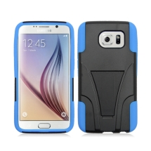 Hybrid Case with Stand for Samsung Galaxy S6 (Blue) (Closeout)