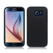 Hybrid Mesh Case for Samsung Galaxy S6 (Black) (Closeout)