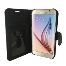 Prodigee Wallegee+ Case for Samsung Galaxy S6 (Black) (Closeout)
