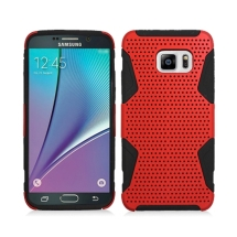 Hybrid Mesh Case for Samsung Galaxy S6 Edge + (Red) (Closeout)