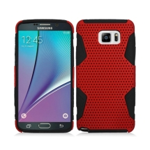 Hybrid Mesh Case for Samsung Galaxy Note 5 (Red & Black) (Closeout)