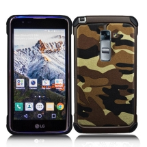 Advanced Armor Case for LG K8, K7 (Brown Camo) (Closeout)