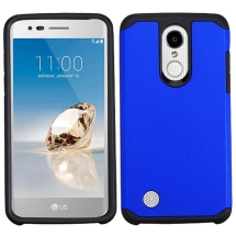 MYBAT Advanced Armor Case for LG Aristo & K8 (Blue & Black) (Closeout)