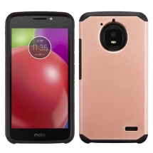 Advanced Armor Case for Motorola Moto E4 (Rose Gold & Black) (Closeout)