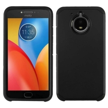 Advanced Armor Case for Motorola Moto E4 Plus (Black & Black) (Closeout)