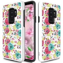 Zizo Advanced Armor Case for Samsung Galaxy S9+ (Flowers) (Closeout)